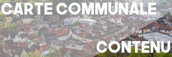 carte communale contenu