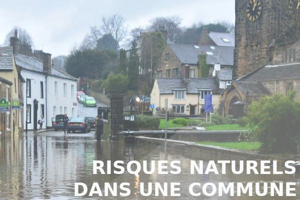 risques naturels dans une commune