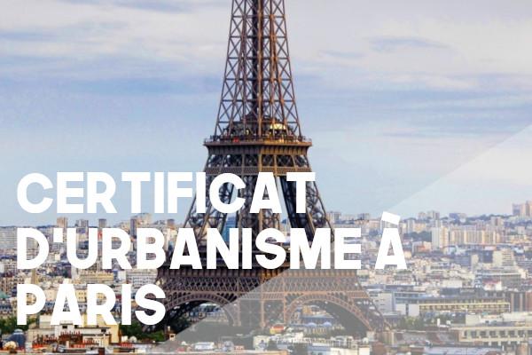 certificat urbanisme paris