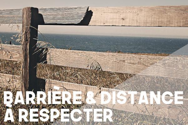 clôture distance