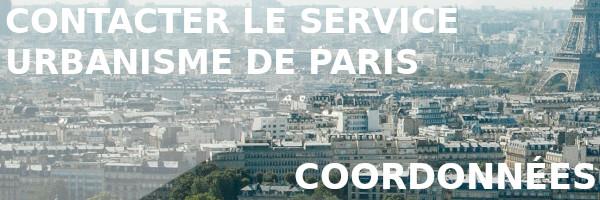 urbanisme paris coordonnées