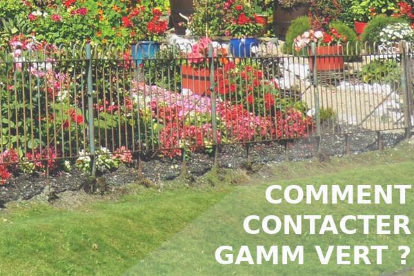 comment contacter gamm vert