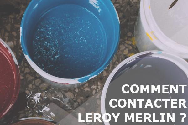 contacter leroy merlin