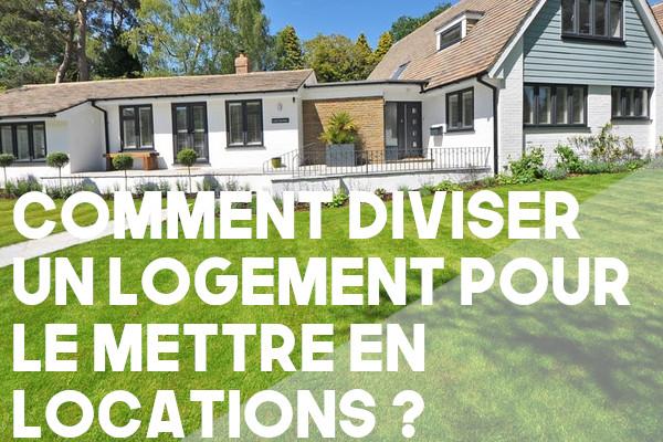 diviser logement location