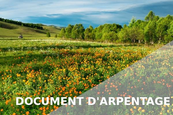document arpentage