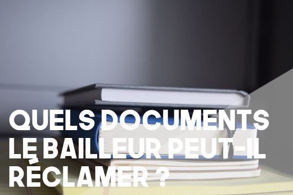 documents bailleur