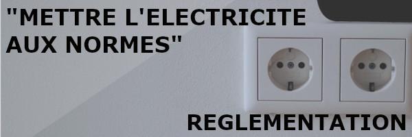 électricité réglementation