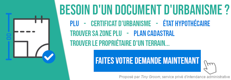 Demande de documents d'urbanisme