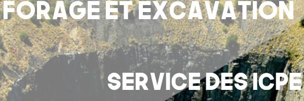 forage excavation icpe