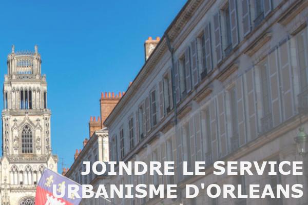 joindre service urbanisme orléans