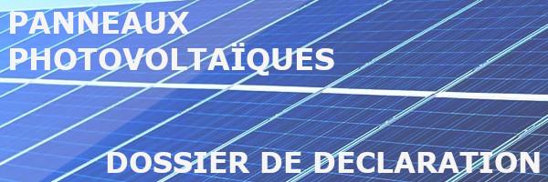 panneaux solaires dossier