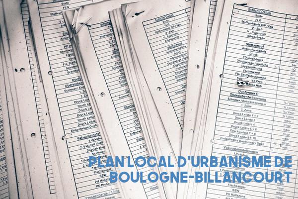 PLU Boulogne-Billancourt