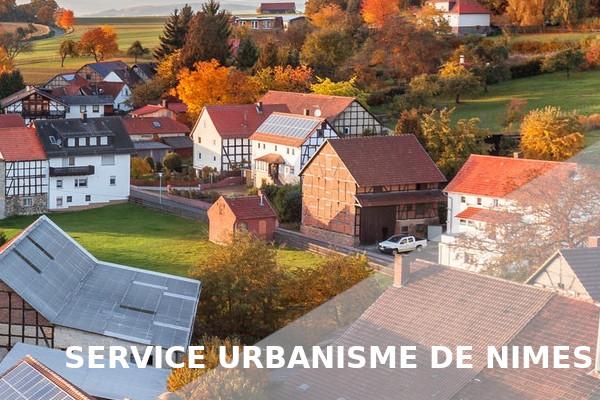 urbanisme nîmes