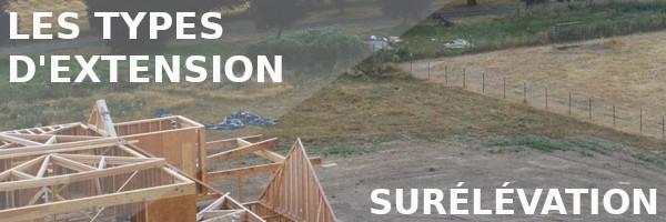 extension surélévation