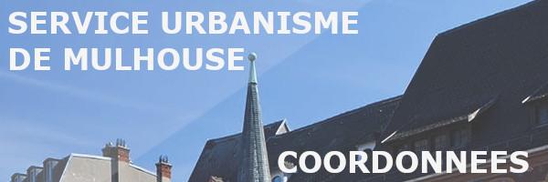 coordonnées urbanisme mulhouse