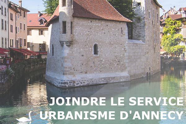 service urbanisme annecy