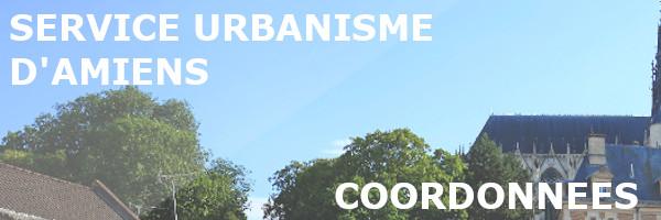 coordonnées service urbanisme amiens