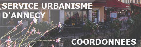 coordonnées service urbanisme annecy