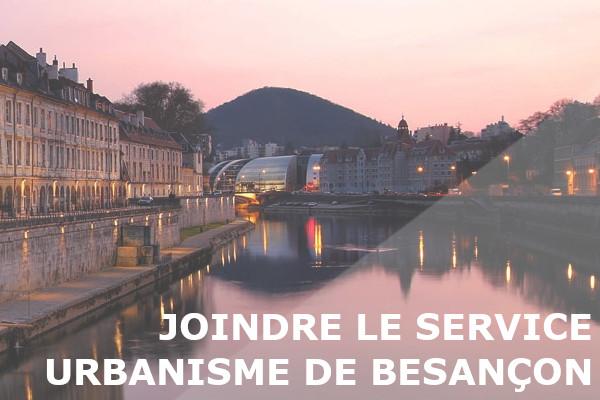 service urbanisme besançon