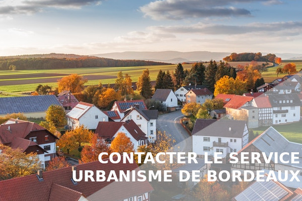 urbanisme bordeaux