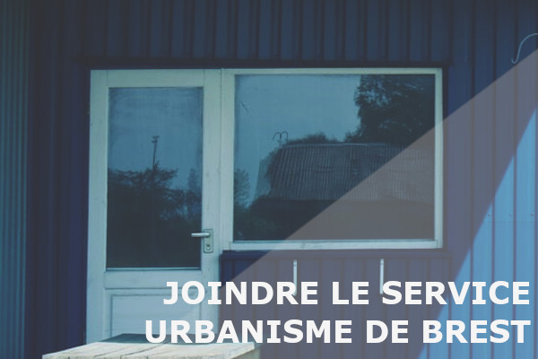 joindre service urbanisme brest