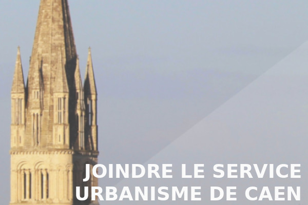 joindre service urbanisme caen