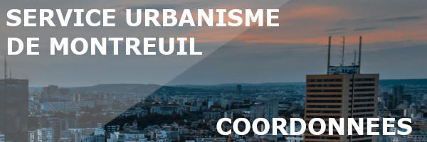 coordonnées service urbanisme montreuil