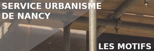 motifs contact urbanisme nancy