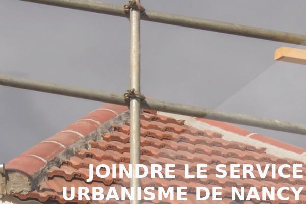joindre urbanisme nancy