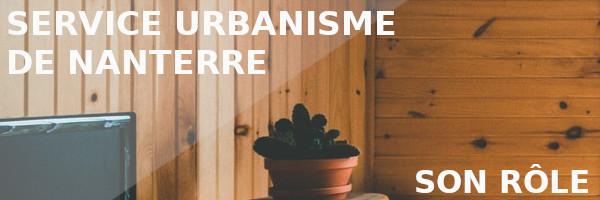rôle service urbanisme nanterre
