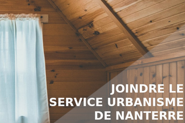 joindre service urbanisme nanterre