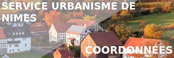 coordonnées urbanisme nîmes