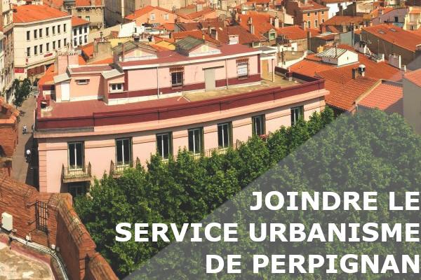 service urbanisme perpignan