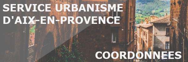 coordonnées urbanisme aix-en-provence