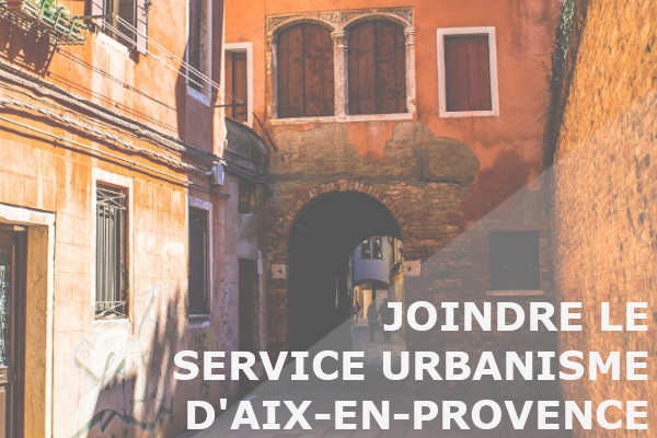 service urbanisme aix-en-provence