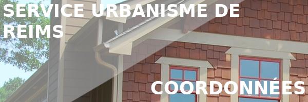 coordonnées urbanisme reims