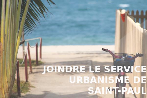 service urbanisme saint-paul