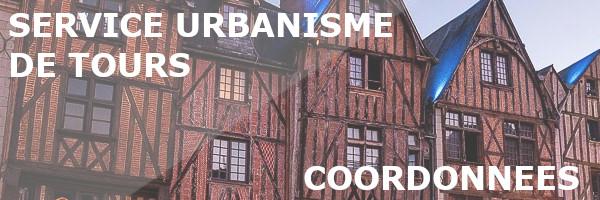 coordonnées service urbanisme tours