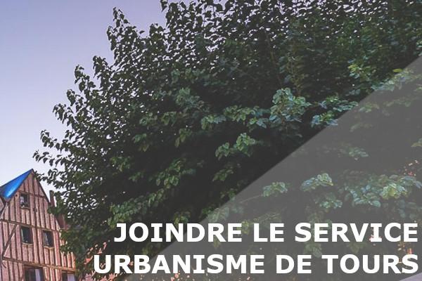service urbanisme tours