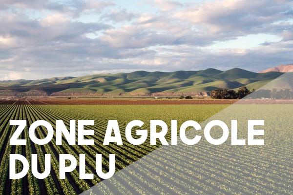 zone agricole plu